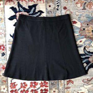 Ann Taylor Loft Ponte Knit Fit & Flare Skirt 14